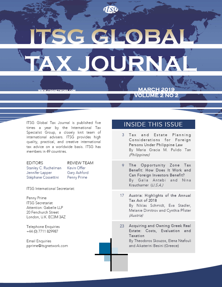 Austria: Highlights of the Annual Tax Act of 2018